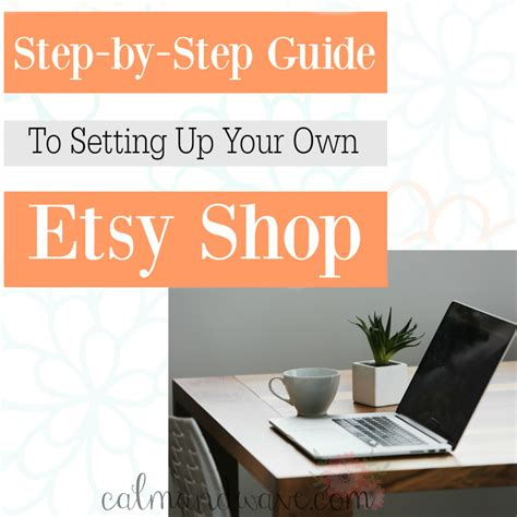 your own service step by step guide to an obedient service books part 6 setting up your etsy shop product product