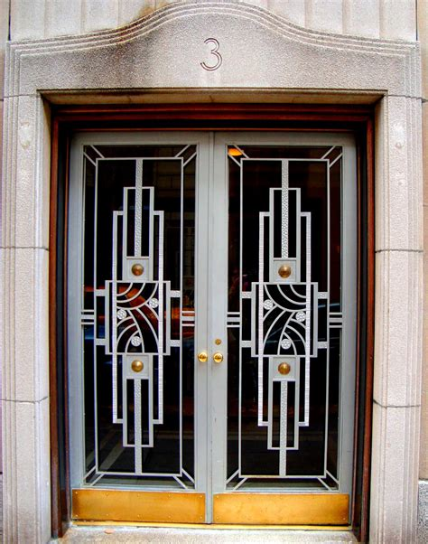 Door East by David Cobb Craig Deco Doors In N Y C