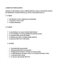 dispense pdf dispense corso haccp docsity