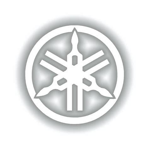 Yamaha Gabel Aufkleber by Yamaha Logo Sticker Stimmgabel 110mm 4 3 Quot R1 R6 Yzf Xjr