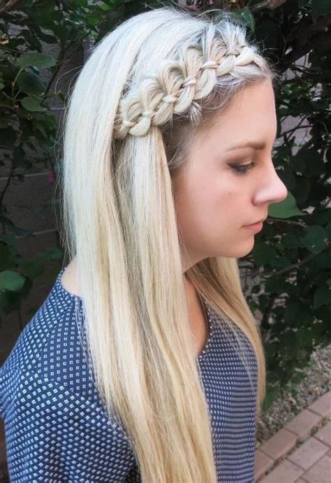 cute hairstyles headband braid 40 cute and comfortable braided headband hairstyles