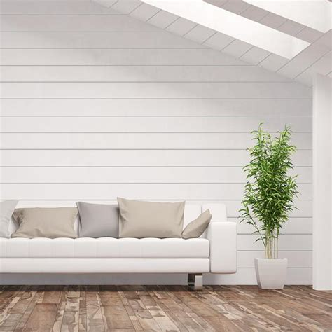 White Shiplap by Shiplap Boards And Siding Bay White 0 75 In X 8