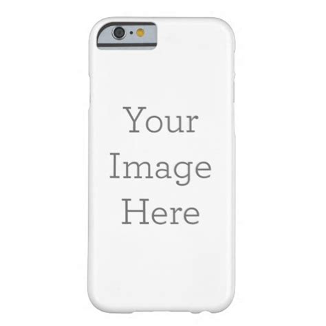 Iphone 6 Barely There Zazzle Custom Phone Template