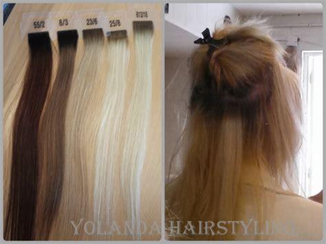 yolandas extensions hothead tape extensions de website van yolanda hairstyling