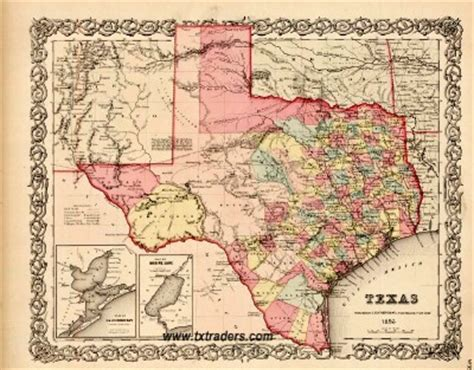 historical maps of texas texas historical map texas 1856