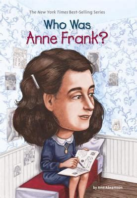anne frank biography free download who was anne frank by ann abramson nancy harrison