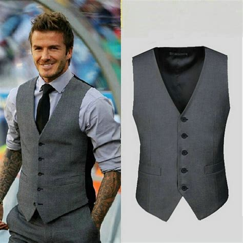 Ca350 Size M L Gray Ucansee Sleeveless Baju Wanita Import 2016 high quality suit vest s clothing fashion casual slim fit vest waistcoat v