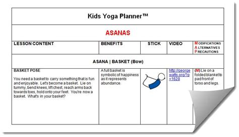 lesson plan template yoga blog archives filecloudsw