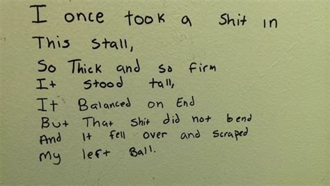 Poems About Bathrooms by Talented Toilet Stall Poets