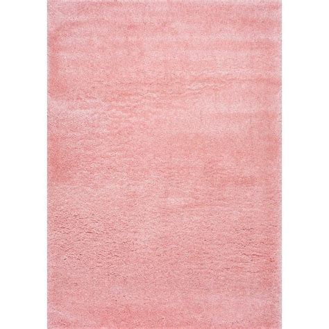 Nuloom Gynel Cloudy Shag Baby Pink 4 Ft X 6 Ft Area Rug Pink Rug