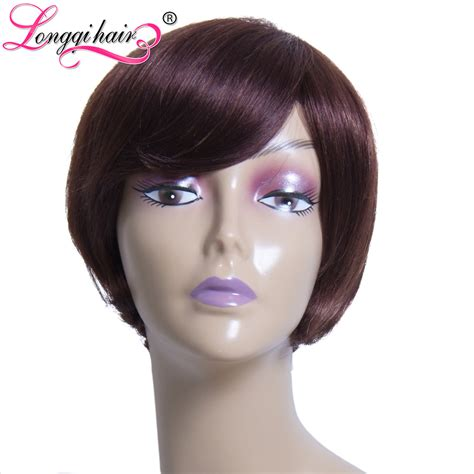 aliexpress human hair wigs aliexpress com buy 2016 celebrity wig machine made short