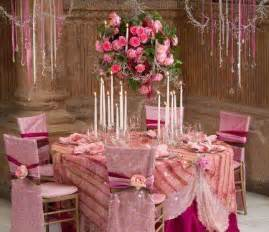 Pretty Table Decorations Pretty Pink Table Settings