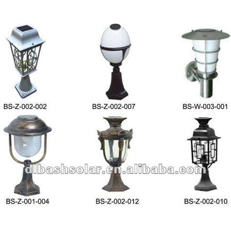 solar powered pillar lights solar gate l solar pillar light buy gate l solar