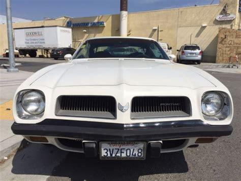 1974 pontiac firebird esprit for sale 1974 pontiac firebird esprit all original ca car for sale