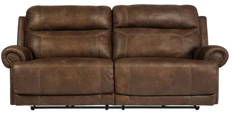 brown recliner sofa austere brown reclining sofa from ashley 3840081