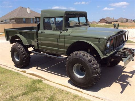 jeep kaiser lifted lifted jeep hummer m715 rock crawler truck kaiser