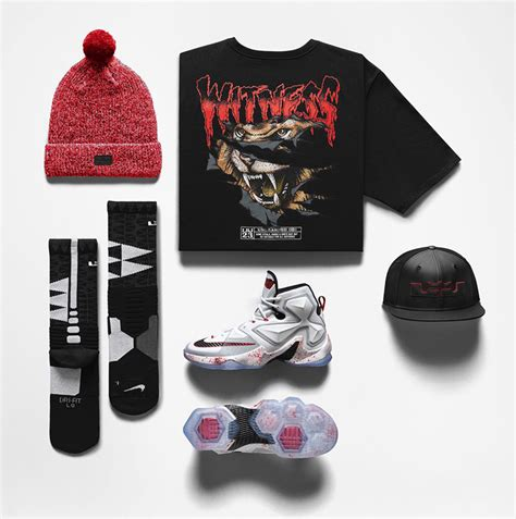 nike lebron 13 horror clothing sneakerfits