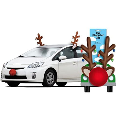 festive christmas reindeer car decoration kit party supply