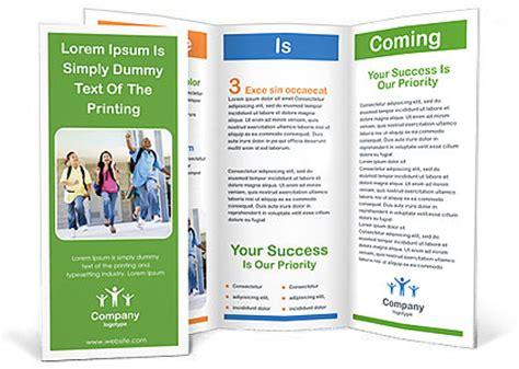 template untuk brochure 25 contoh brosur sekolah pendidikan free download