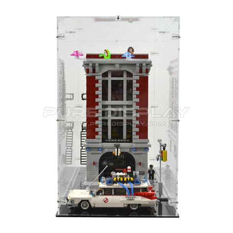 Lego Ghostbusters House by Lego 75827 Ghostbusters Firehouse Hq Display Closed Only Display Cases For Lego Tv