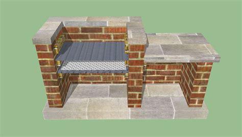 brick pit plans brick laminate picture brick grill plans