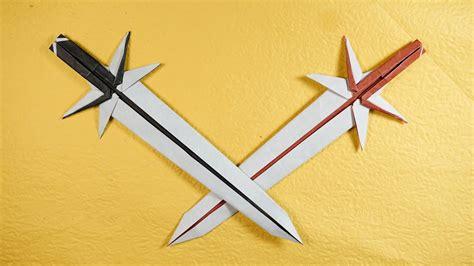 origami easy origami katana origami japanese sword