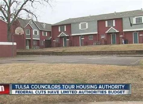 tulsa housing authority tulsa councilors tour housing authority one news page video