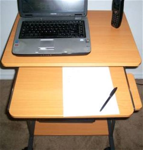 24 inch computer desk sts5806 24 quot mini computer and laptop desk table with