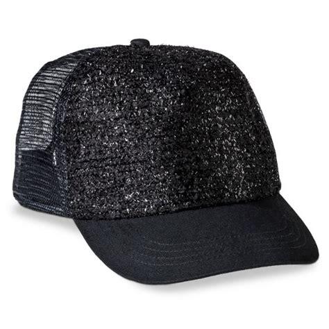s sparkle trucker hat black target