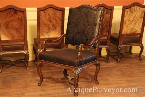 leather upholstered dining room chairs hair hide and leather upholstered dining room chairs