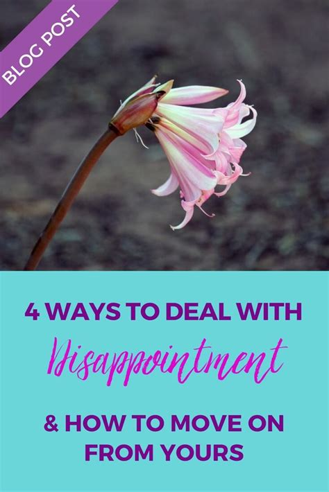 4 Types Of Up And Ways To Deal With Them by 4 Ways To Deal With Disappointment How To Move On From