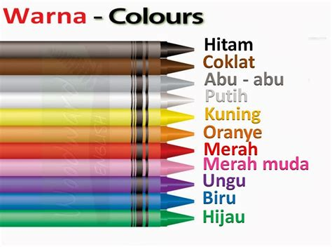 Colour Of Indonesia colours in language