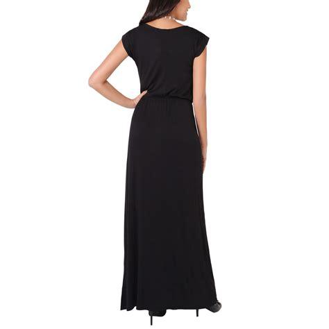 W 09new Zaenab Maxi Jersey womens sleeve maxi cotton dress jersey cover dresses au ebay