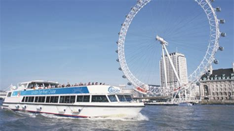 river thames dinner cruise and london eye london eye river cruise tickets 2for1 offers