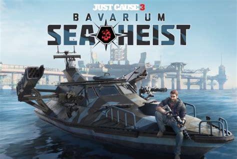 boats just cause 3 just cause 3 dlc bavarium sea heist and rocket boat