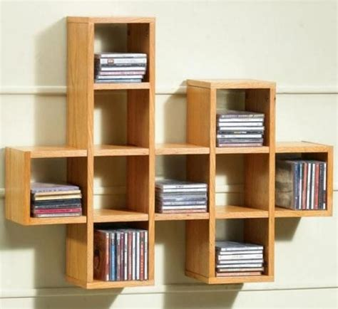 wall dvd shelf cool and different cd shelf for the home pinterest