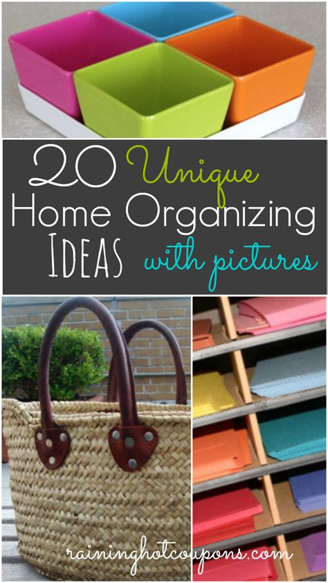 organizing ideas for home 20 unique home organizing ideas with pictures