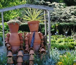 Garden Ornament Ideas Upcycled Garden Projects Recycled Things