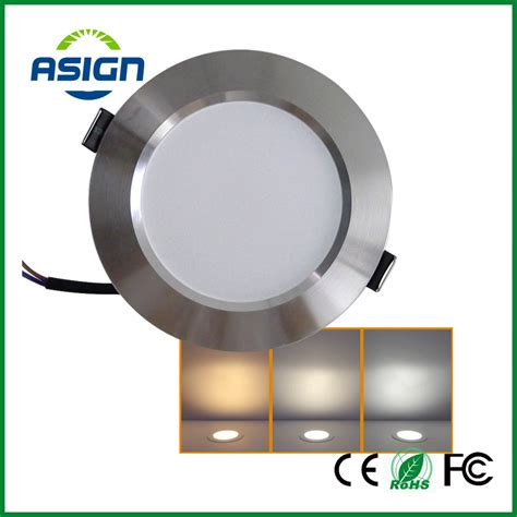 Downlight Kaca Led 5w 3 Cahaya White Cool White Warm White aliexpress buy changeable led downlight 3w 5w 7w ceiling recessed light silver frame 3