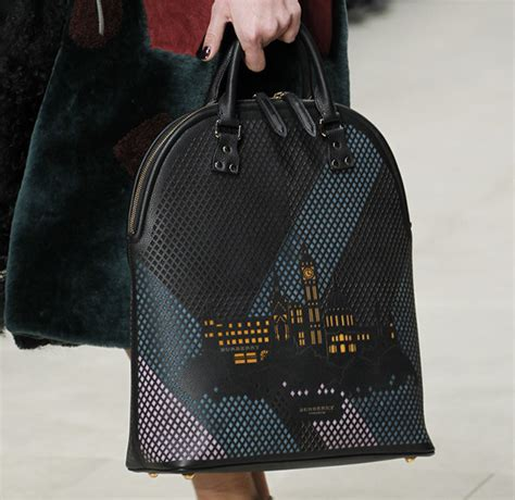 Burberry 2008 Handbags Runway Review by Burberry Painted Its Fall 2014 Runway Bags For