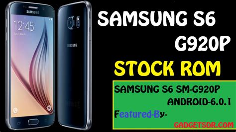 samsung s6 sm g920p stock rom stock firmware flash file gadgets doctor