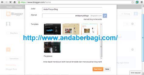 cara membuat website lewat blogspot cara membuat website atau blog plus gambar rizqi putra
