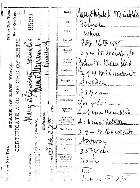 Free Birth Records Canada Birth Certificate