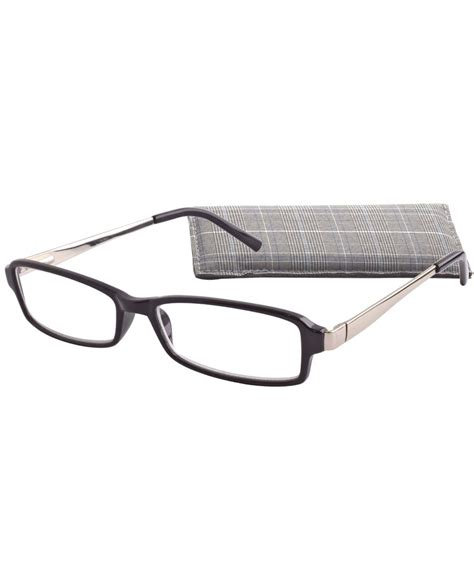 icu eyewear rectangle plastic frames