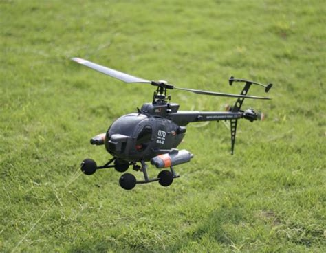 Remote Helikopter G 500 fx070c 2 4g 4ch 6 axis gyro flybarless md500 scale rc