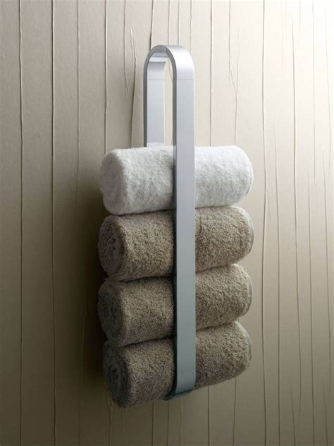 small bathroom towel rack solution ideas pinterest