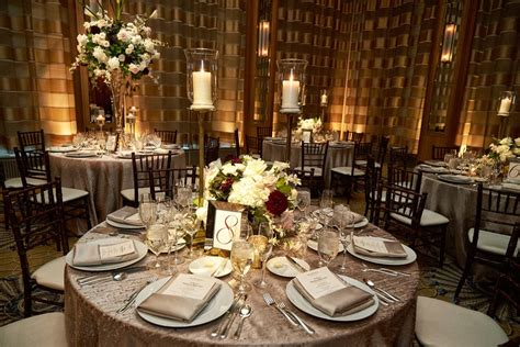 wedding tablescapes reception d 233 cor photos silver tablescapes with varying