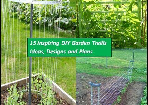 15 inspiring diy garden trellis ideas for growing climbing