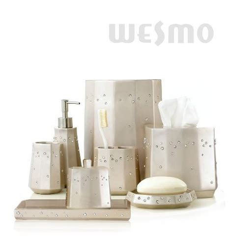 Resin Bathroom Accessories Resin Bathroom Accessories Set Wbp0816a Wesmo
