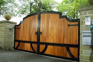 apollo hardwood gates wooden driveway gate estate gates